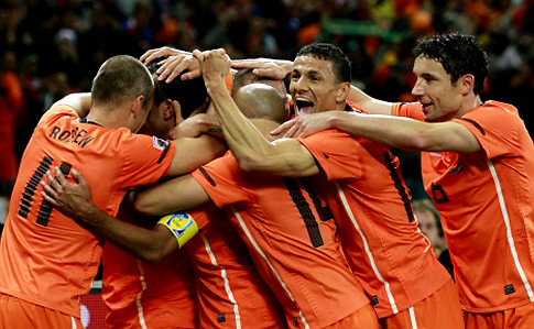 South Africa Soccer WCup Uruguay Netherlands